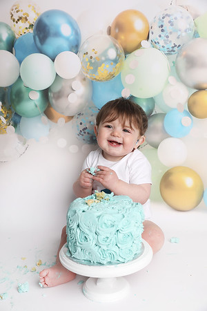 Richie's 1st Birthday Cake Smash