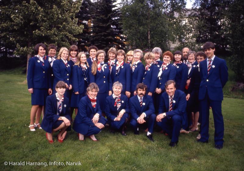 Narvik reiselivslag, Guideforeningen, 1988