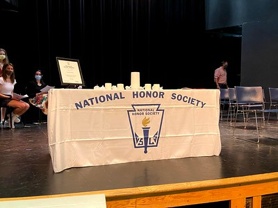 National Honor Society Induction Ceremony 9.23.20