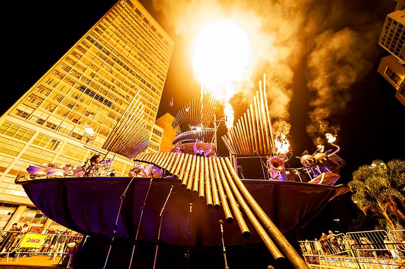 Australia now - Pyrophone Juggernaut - Maio 2016