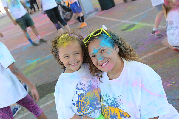 Lyndhurst Color Run 2019