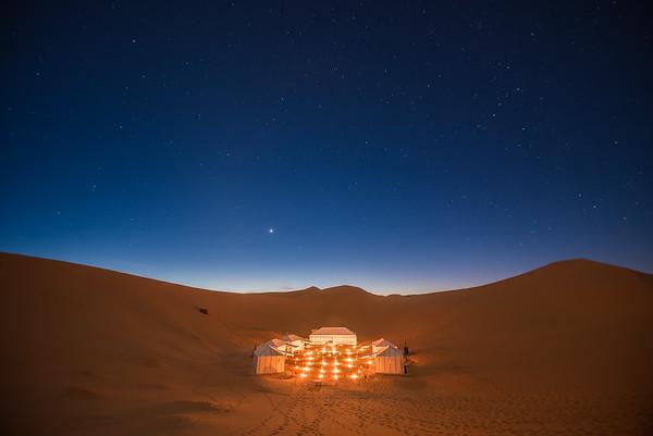 Merzouga Luxury Desert Camp, Morocco