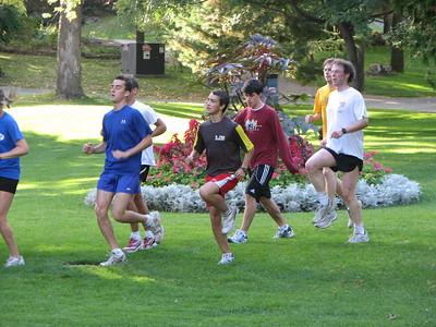 Bell Park Workout'08