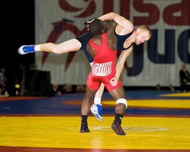 Mens Greco 55 Kg Olympic Representative Champion -  Spenser Mango def. Sam Hazwinkel