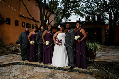 Michele & LaVone • First Look & Wedding Party
