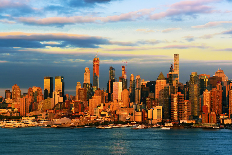 NYC-Burnished Gold Sundown