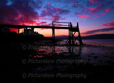 Sunset Belfast Lough