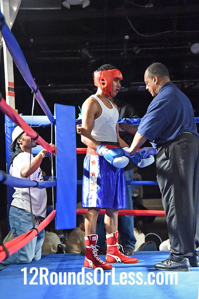 Bout #11  Rajiv Hernadez, DNA Level C BC, Cleveland, OH  vs  Ouis Cano, Torres BC, Chicago, IL  132 Lbs.
