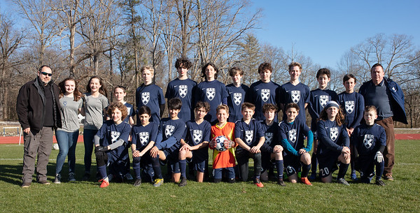 Middle School Boys' Soccer 2020