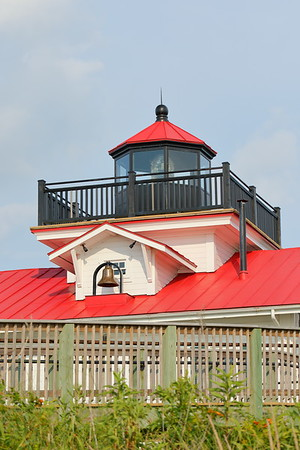 Replica Plantation Flats Lighthouse on the Eastern Shore of VA.  The original was built in 1886, torn down in 1962, and this replica was built in 2004. © 2020 Kenneth R. Sheide