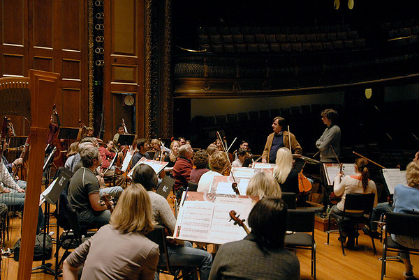Jeff Means  CSO rehearsal  11.10.2007