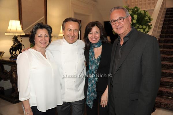 Joanne Cuchel, Daniel Boulud, Lisa Maggiore, Robert Rizzuto  photo by Rob Rich/SocietyAllure.com © 2014 robwayne1@aol.com 516-676-3939