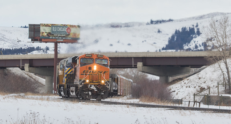 6645 on the H-PASKCK901 at Bozeman Trail Rd.