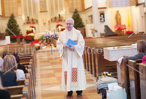 Christa Mangiello baptism Haddonfield NJ