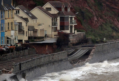 Storm Damage at Dawlish