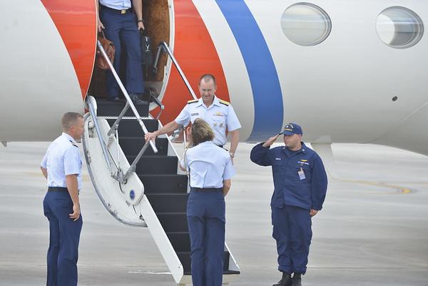 Vice Commandant Visit