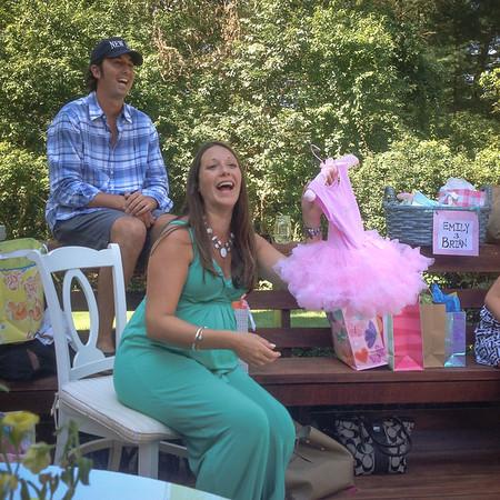 Em + Brian's baby shower