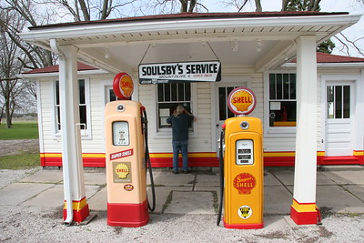 Soulsby's Service Station in Mt. Olive