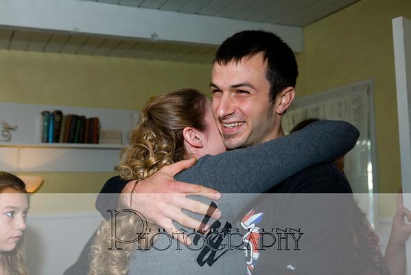 Amanda and Andy