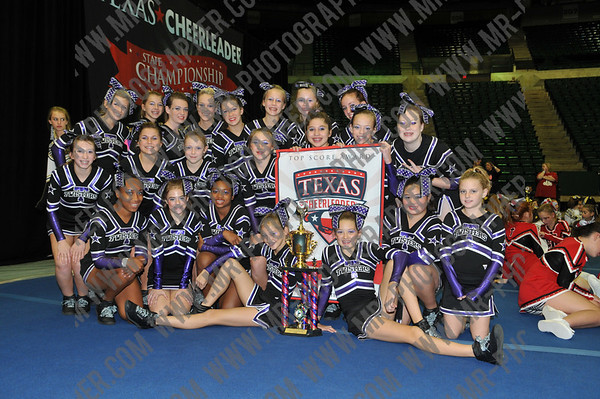 Texas Cheerleader Magazine - Denton - Spirit & Awards - November 1, 2009