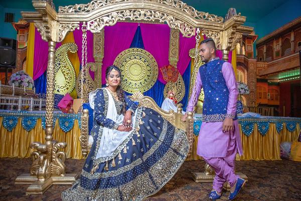 Yash & Dhruvi Garba