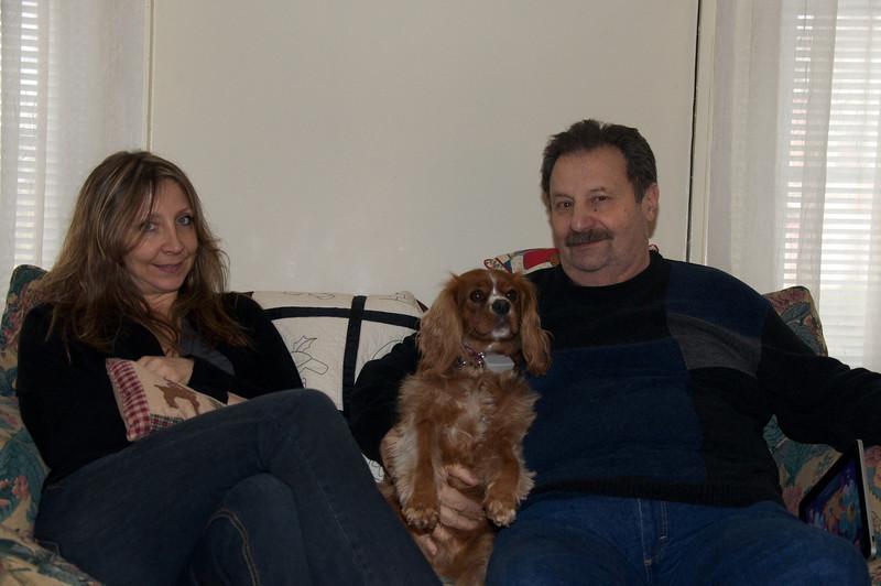 Dad, Chris, Ruby