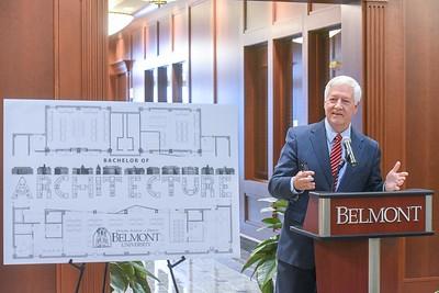 Dr. Bob Fisher Announces Architecture Degree