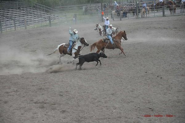 Augusta Day 1 Team Roping Senior Pro Rodeo