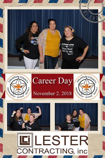 20181102 School Career Day Port Lavaca