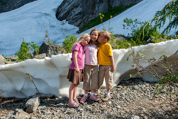 Big Four Mountain Ice Caves - August 5, 2012