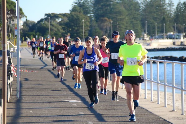 Sri Chinmoy Dolls Point Half-Marathon, 10km & 5km, Sunday 14 July 2019
