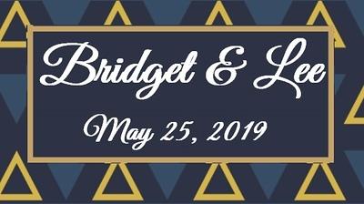 Bridget & Lee's Wedding!