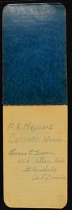 Gammon & Sunshine Hunting Journal 1937
