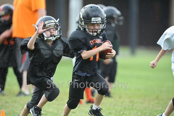 HV and Elizabethton Youth League Practice 8-12-2013