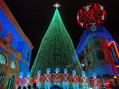 2013 Disney Studios Christmas Lights
