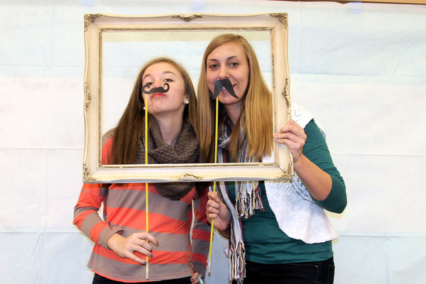 Middle School Girls Bible Study Photo Booth