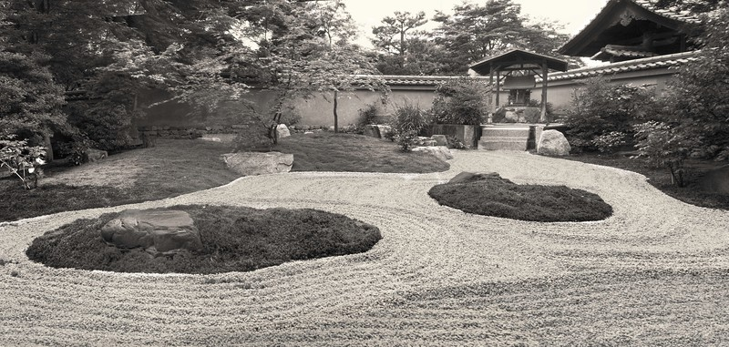 Daitokuji. Garden.