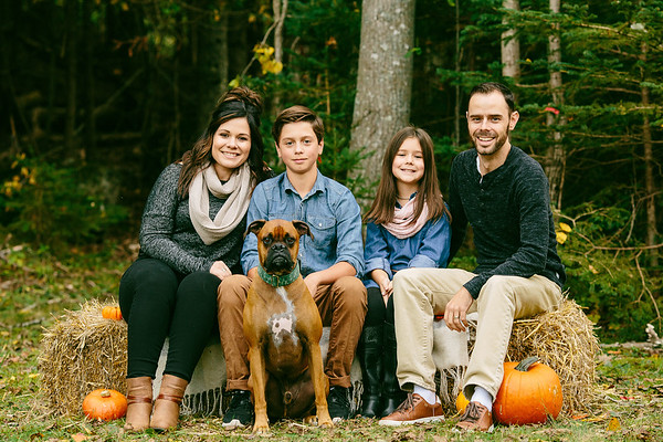 Fall Family Mini Sessions-The McGinnis
