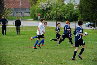 Summit U12 B vs Midd Grade 5 team