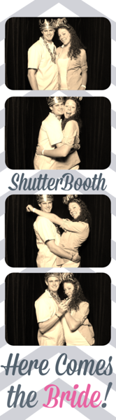 Closed Curtained Photo Booth- Strip Photos