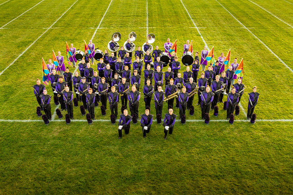 2019 Marching Hornet Portraits