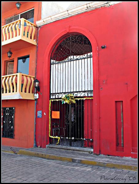Christmas Gate  Isla Mujeres, Mexico