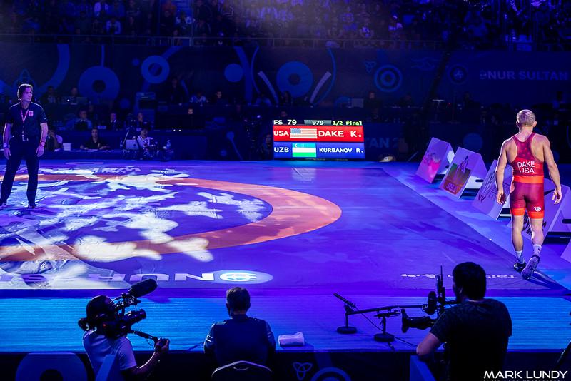 Semifinal: Kyle Douglas Dake (United States) over Rashid Kurbanov (Uzbekistan)  •  Dec 6-1 - 2019 World Championships