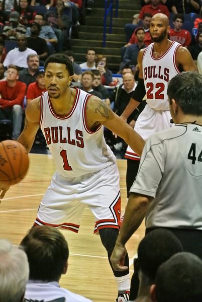 Timberwolves vs Bulls 10/24/14 Scottrade