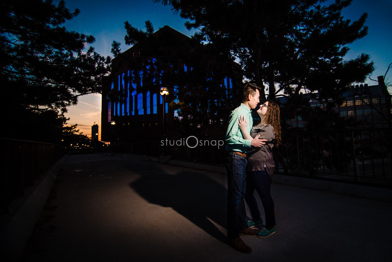 Kellie & John | Engagement | Downtown Ann Arbor
