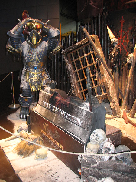 Warhammer Online booth at Games Convention 2008