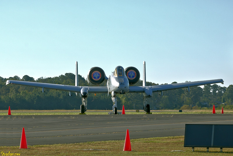 """Fairchild Republic A-10 Thunderbolt II """"Warthog"""" A10-0466 79-202 Rome GA 10/13/2018 This work is licensed under a Creative Commons Attribution- NonCommercial 4.0 International License."""