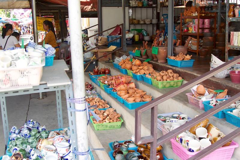 pottery shop on Ko Kret