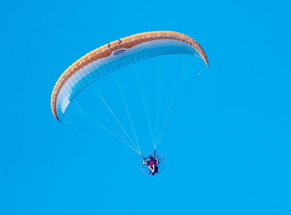 Gliders, Jet Packs, Light Aircraft, Blimps
