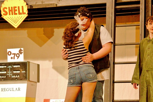 FOOTLOOSE (Pics before & during their Show)..SLC 2014 MUSICAL